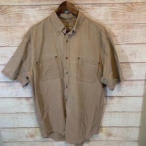 Schmidt workwear men's button down size large